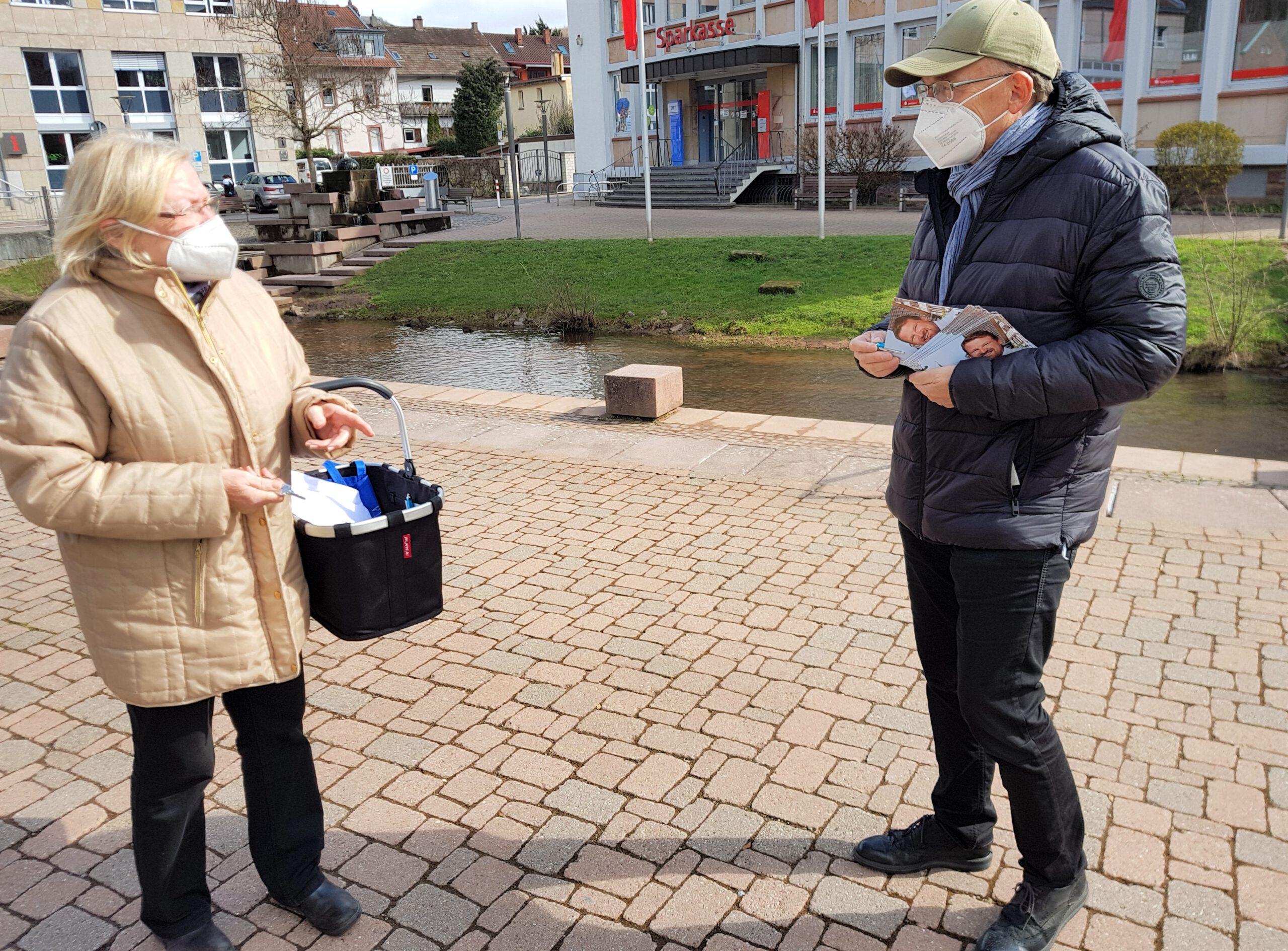 CDU-Direktkandidat Thomas WeinerDie Leute wissen zu unterscheiden