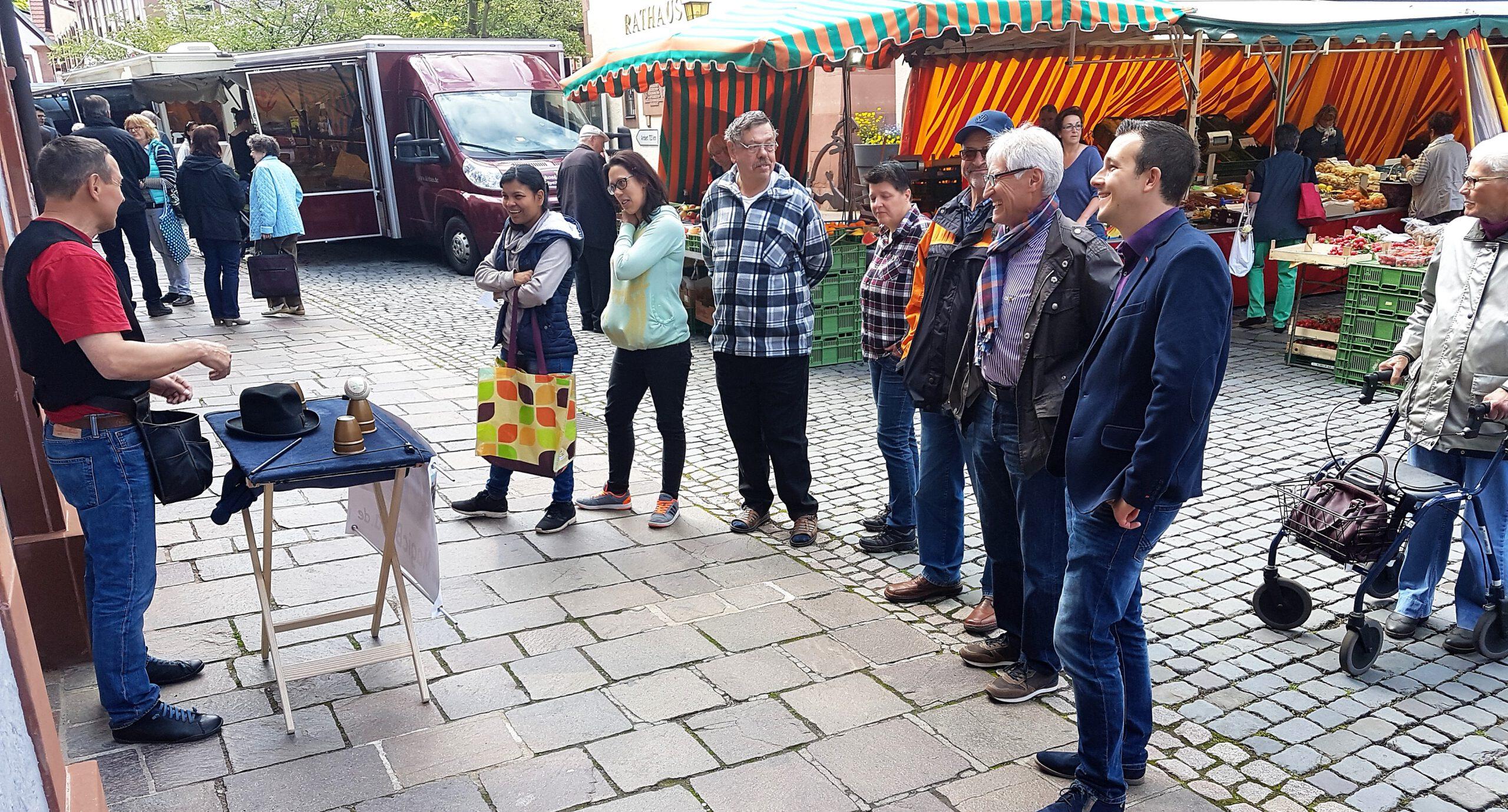 Annweiler Wochenmarkt soll attraktiver werden