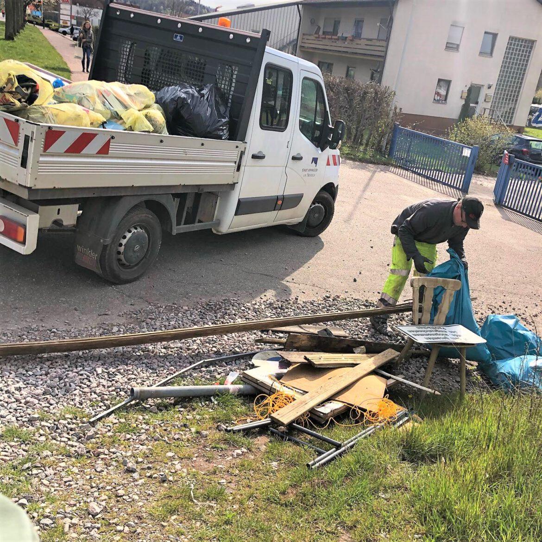 Aktionstag Sauberes AnnweilerViele haben mitgemacht beim Frühlingsputz ihrer Stadt