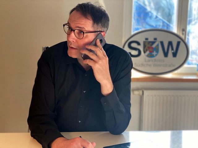 Telefonische Bürgersprechstunde von MdLAlexander Schweitzer (SPD)