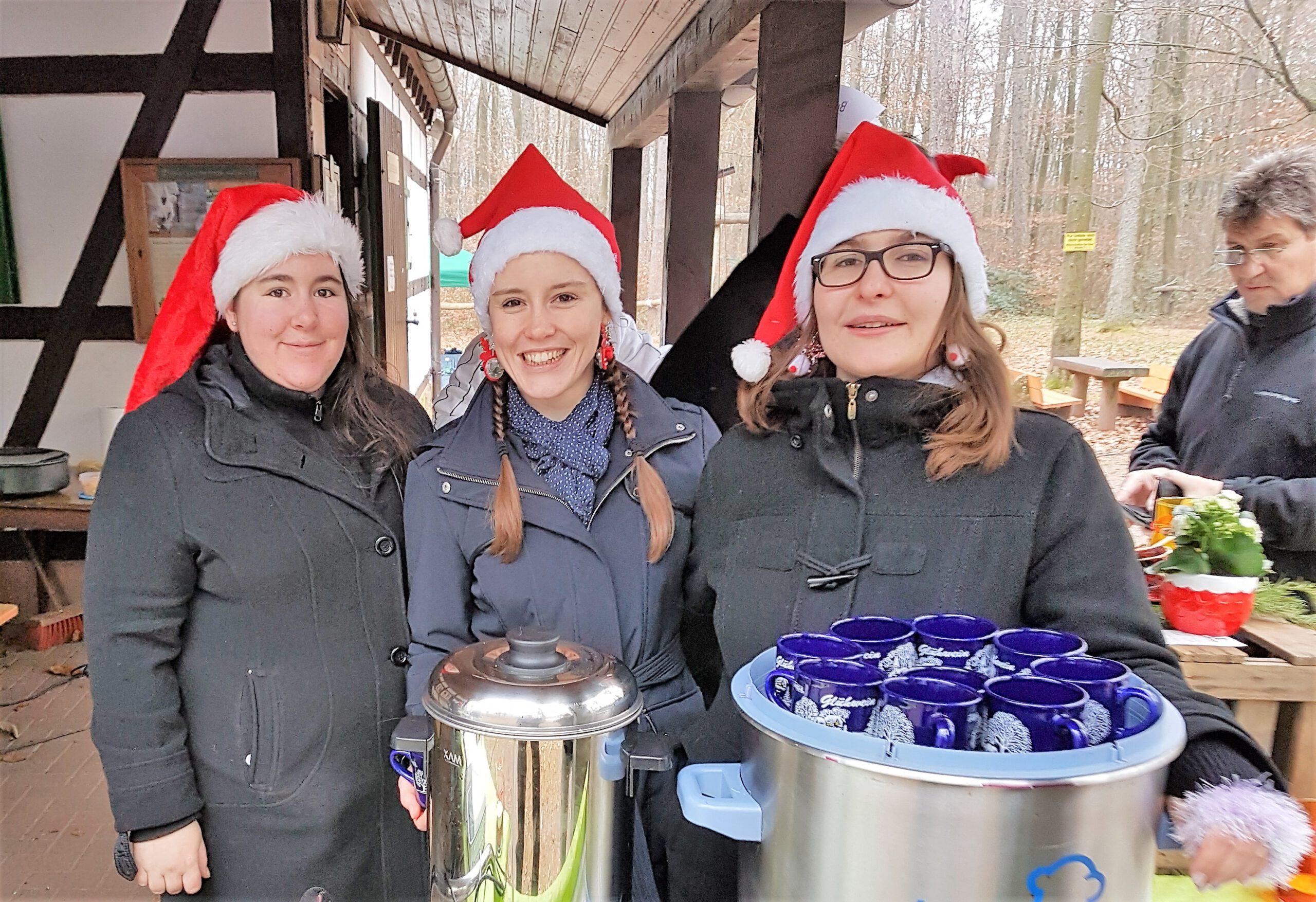 KLettererhütte: Weihnachtsmarkt im Annweiler Winterwald