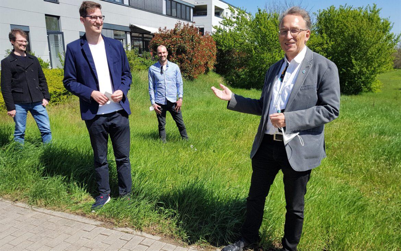 MdL Thomas Weiner (CDU). Start mit neuem Team im SÜW-Wahlkreisbüro.