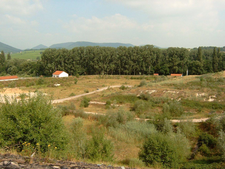Deponie Heuchelheim-Klingen. Klimaschutz-Modernisierung.Weniger Treibhausgas Methan in die Umwelt