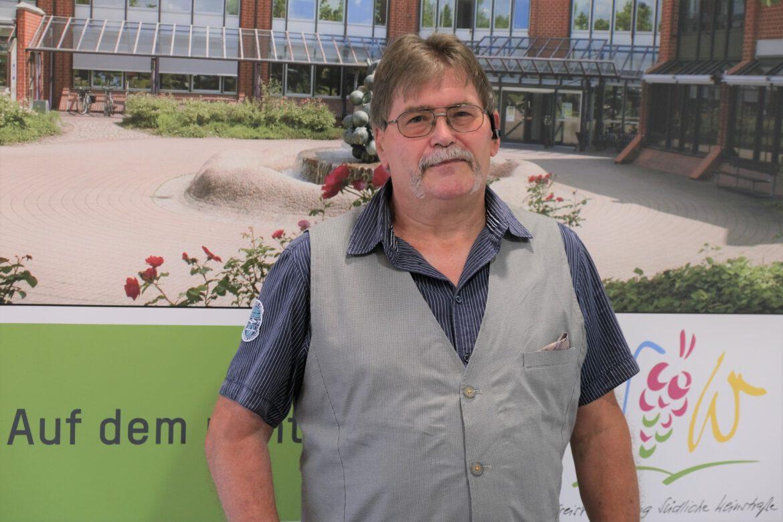 Dietmar Gutting. Behinderten-Beauftragter im Kreis SÜW