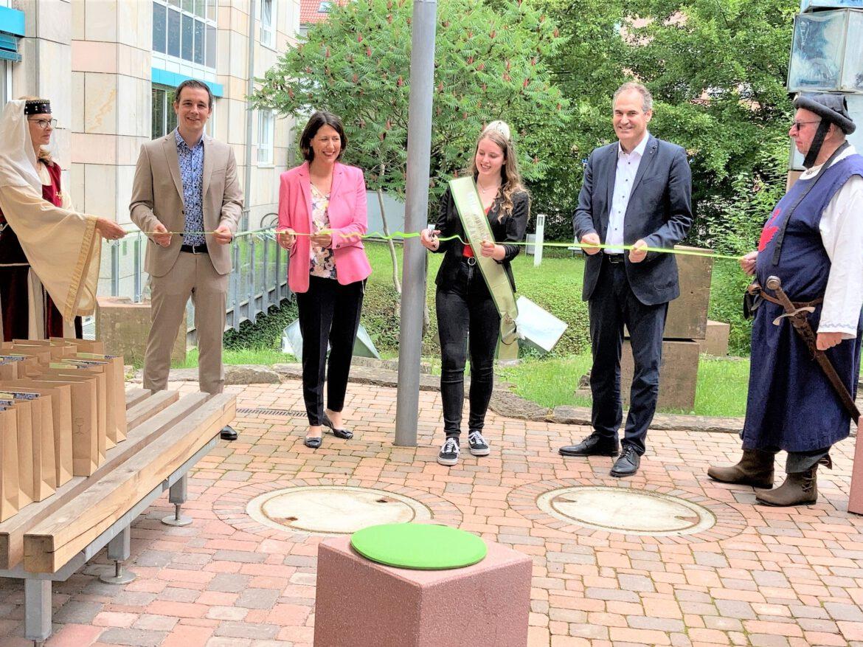 TrifelsErlebnisWeg offiziell eröffnet.Trifelsland profiliert sich mit neuen touristischen Angeboten