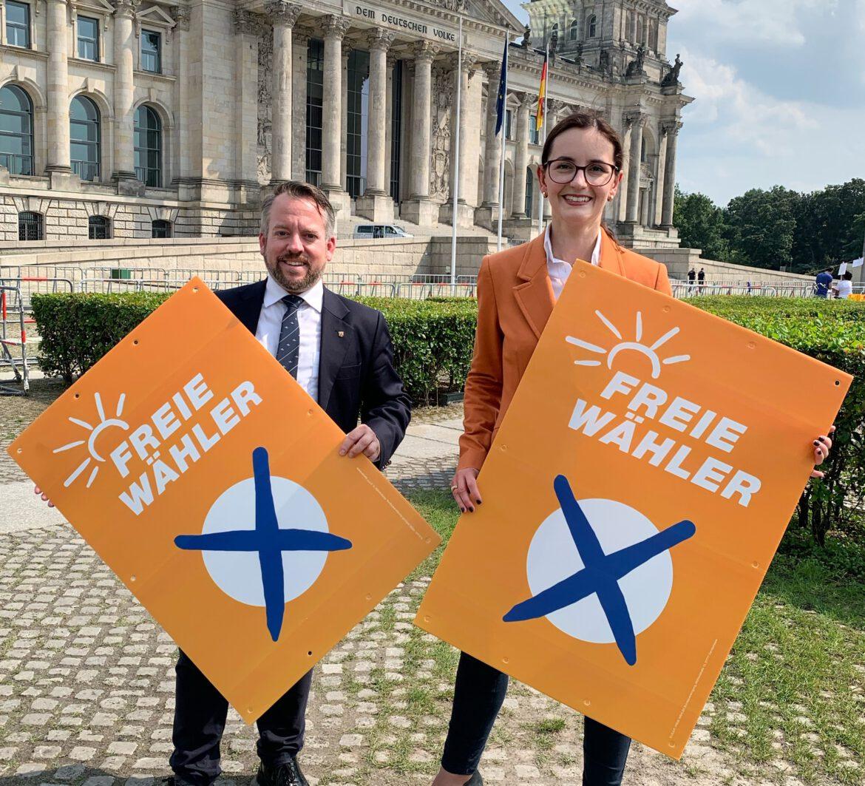 """Freie Wähler (FW) mit Landesliste RLP für Bundestagswahl.""""Wir sind regierungsfähig"""""""