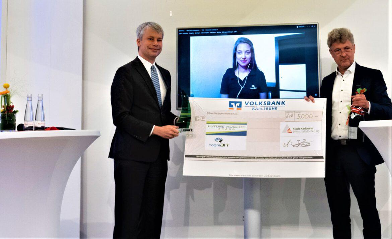 Regionalkonferenz Mobilitätswende.Future Mobility Award 2021 für autonomes Fahren vergeben