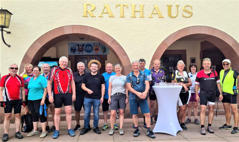 Tour de Pamina 2021.Deutsch-französische Radler-Tour