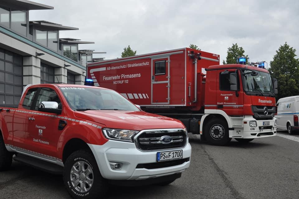 Katastrophenschutz Südwestpfalz hilft in den Überschwemmungsgebieten