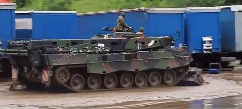 Update-2. Bundeswehr im Katastrophengebiet im Einsatz