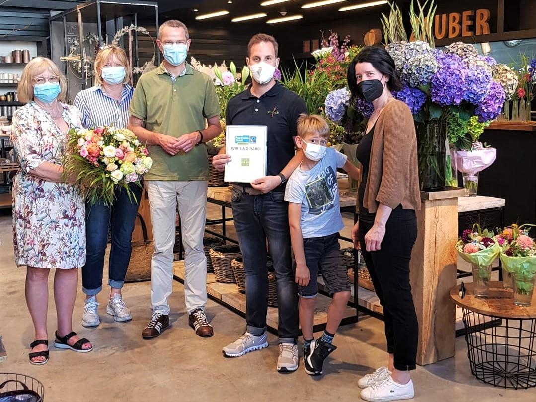 Blumen Gaab in Landau-Queichheim.Fairtrade, Regionalität und ökologischer Anbau