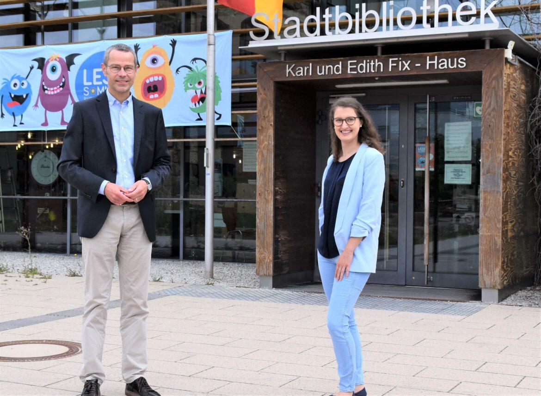 Stadtbibliothek Landau.Neue Leiterin Miriam Jöst
