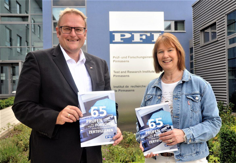 Prüfen, Forschen, Zertifizieren: 65 Jahre PFI in Pirmasens
