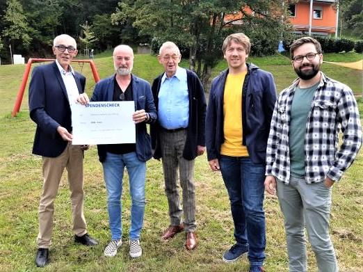 Gerhard-Scharfenberger-Stiftung.Geld für Kinderdorf und Kreismusikschule