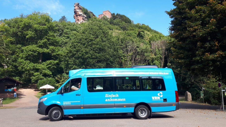 Mit dem Bus bequem zum Trifels.Verbesserte Busverbindung an den Wochenenden