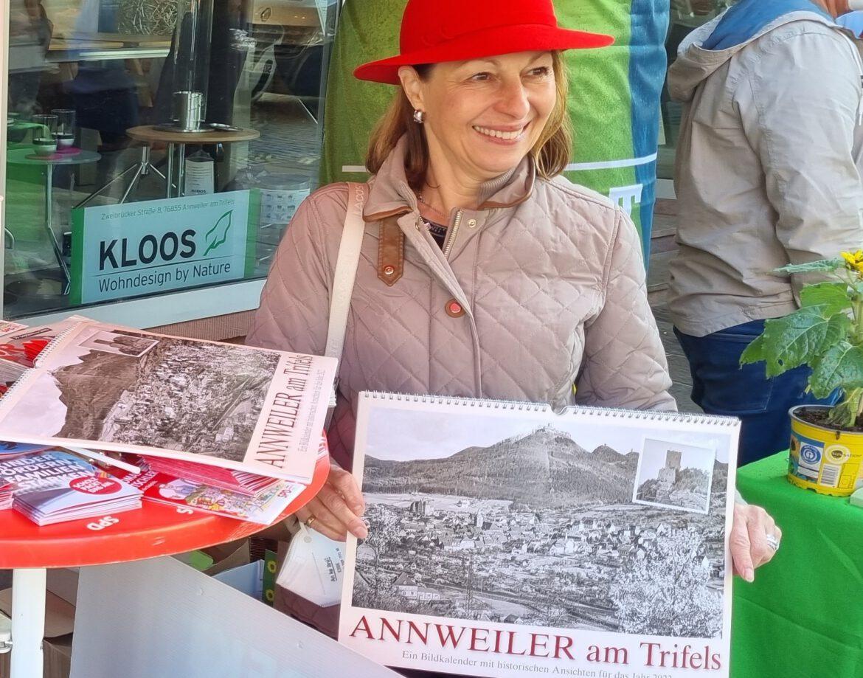 Freitagsmarkt Annweiler. Wahlkampf-Endspurt.Argumente und Überzeugungsgespräche bis zuletzt