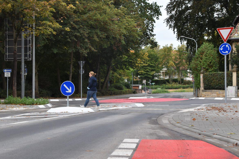 Landau. Kreisverkehr Nordring/An44/Am Kronwerk ist fertig