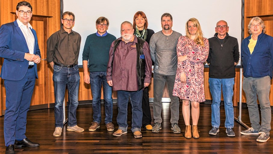 Bürgerfernsehen OK Weinstraße.br>Mitgliederversammlung 2021 im Studio Landau.