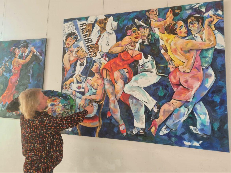 """Fine Art Atelier Solotzew.Jahresausstellung """"All we need is love"""". 21.10. – 14.11.2021"""